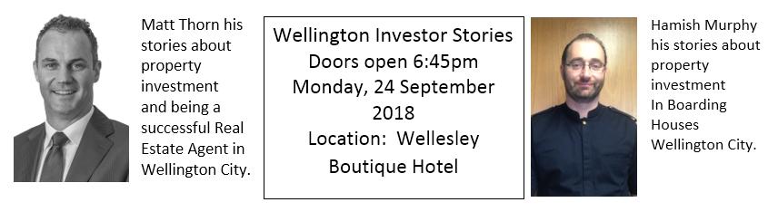 2018 September Member Meeting - Wellington Investor Stories