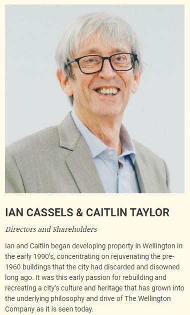 IAN CASSELS & CAITLIN TAYLOR