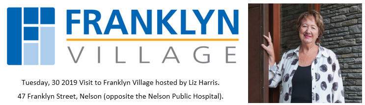 Visit to Franklyn Village hosted by Liz Harris