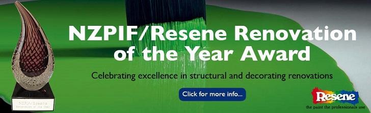 2019 NZPIF/Resene Renovation of the Year